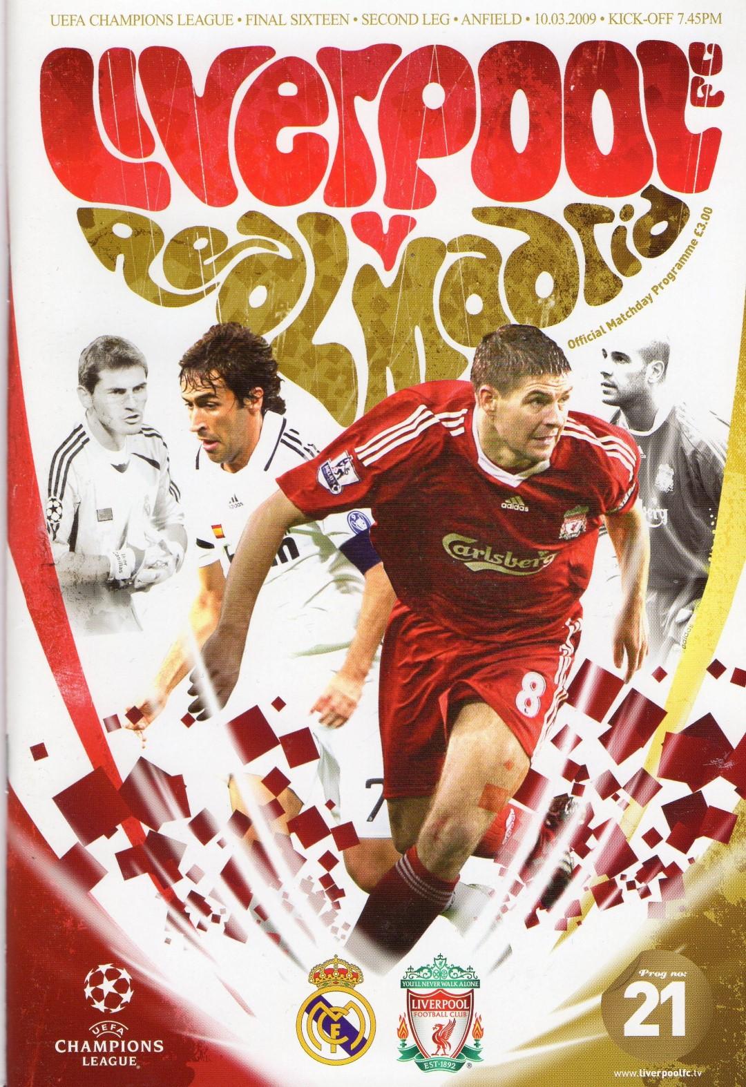 Liverpool Vs Real Madrid 2009 Full Match