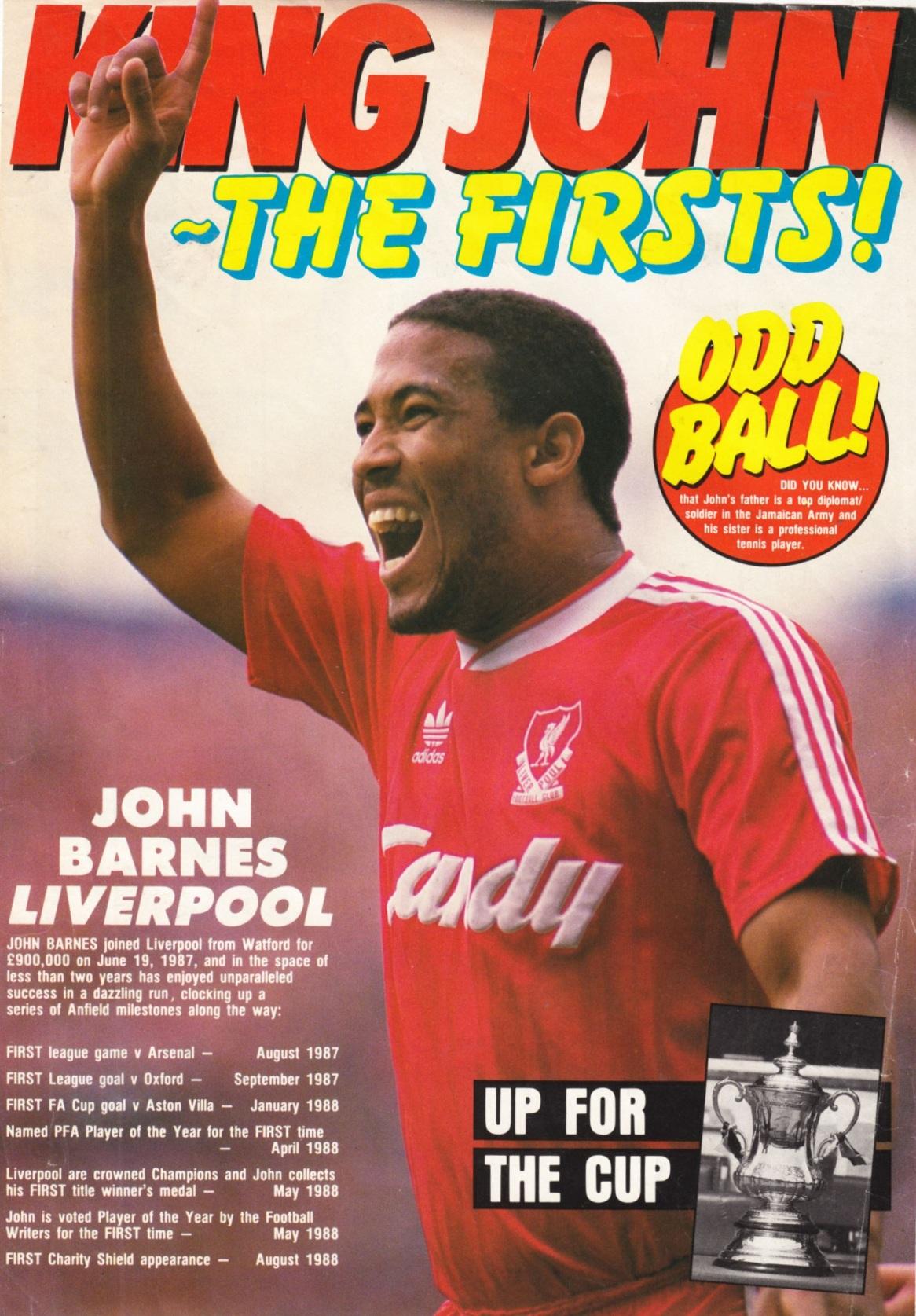 John -  LFChistory stats for Barnes Liverpool career