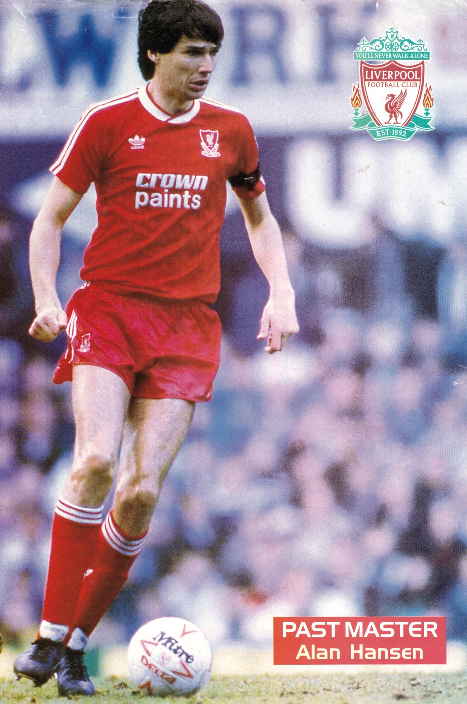 Alan career LFChistory Hansen - for stats Liverpool