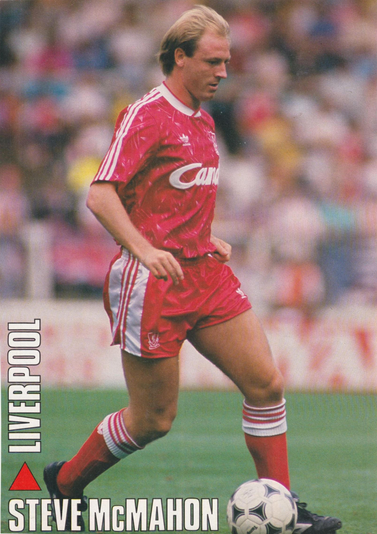 Liverpool Career Stats For Steve Mcmahon Lfchistory