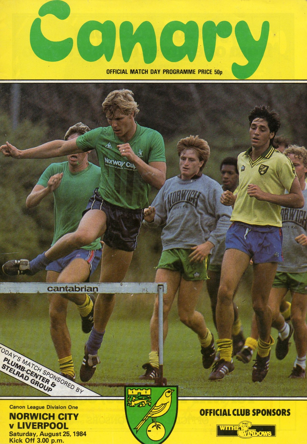 Matchdetails from norwich city liverpool played on for League table 1984 85