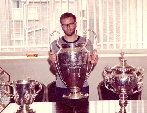 Yours truly with the 1981 European cup