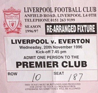 Premier Club Ticket