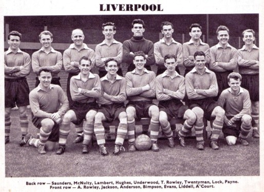The team in the 1954-55 season