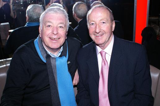 Ian Callaghan with Gerry