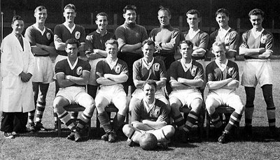 Liverpool Reserves - Central League Champs 1956