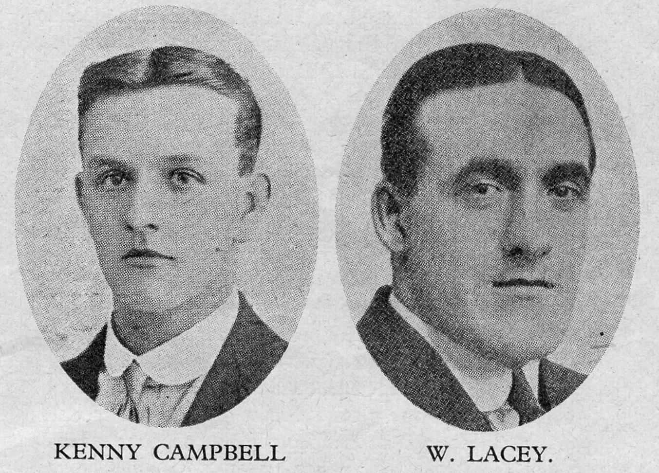 Billy Lacey and Ken Campbell profile pics
