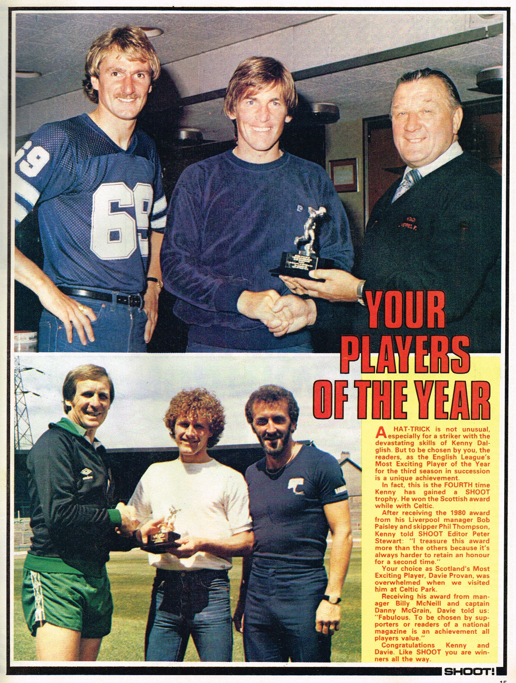 Your players of the year 23 August 1980