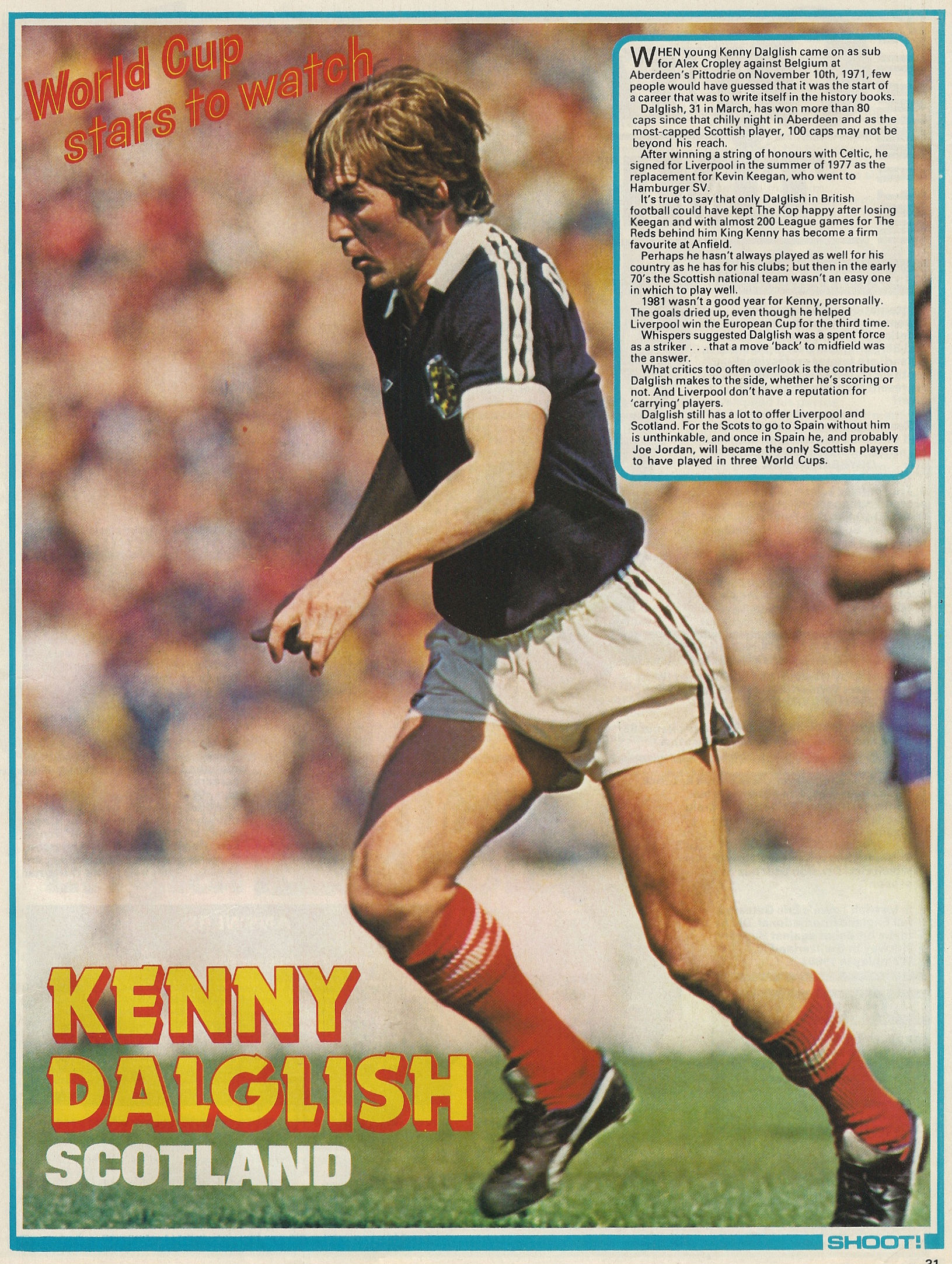 a44a22ce4 Liverpool career stats for Kenny Dalglish - LFChistory - Stats ...