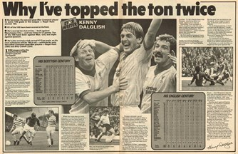 Why I have topped the ton twice! - 7 January 1984