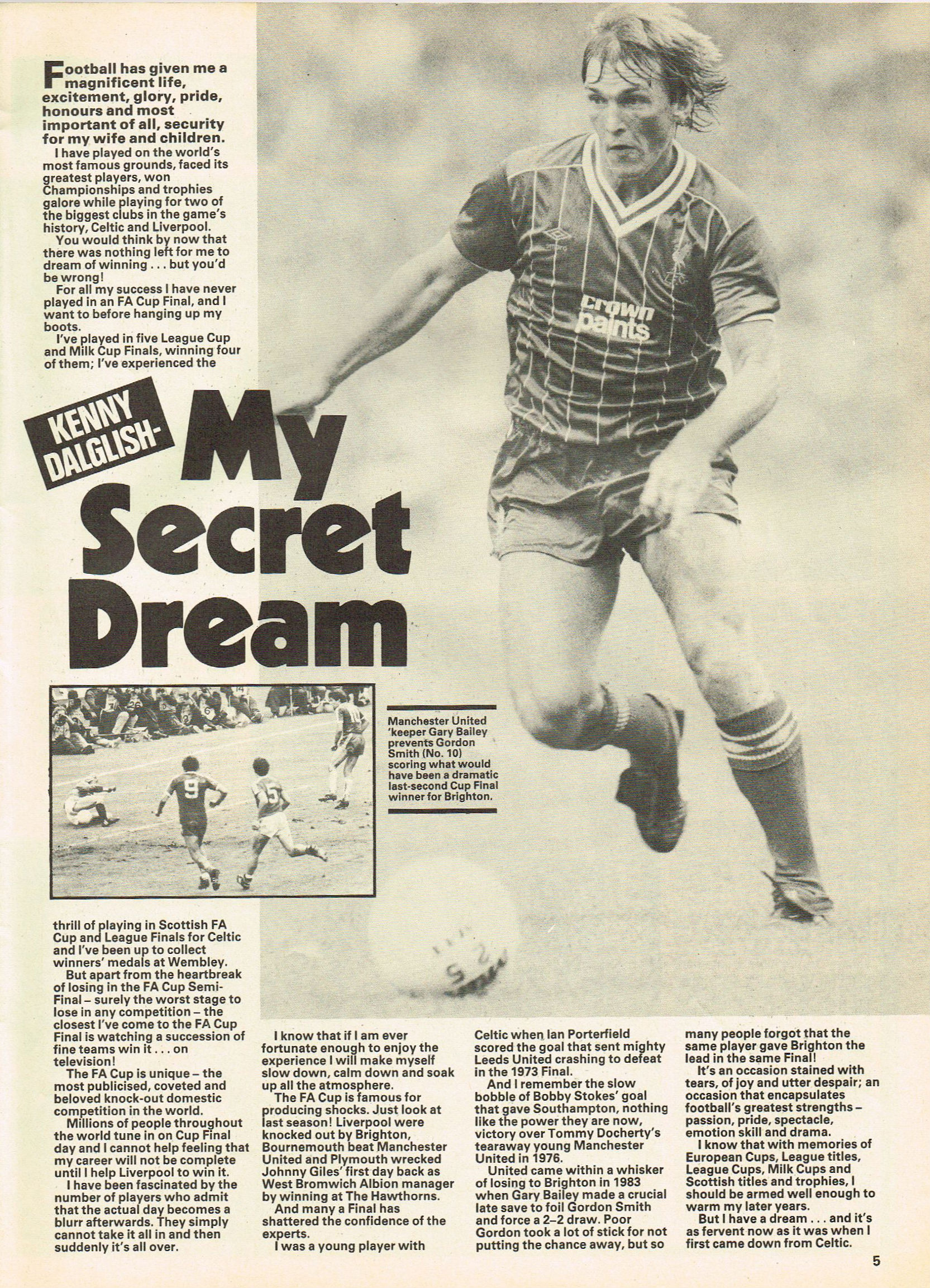 My secret dream 1984
