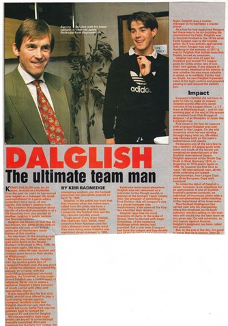 The ultimate team man - January 1991
