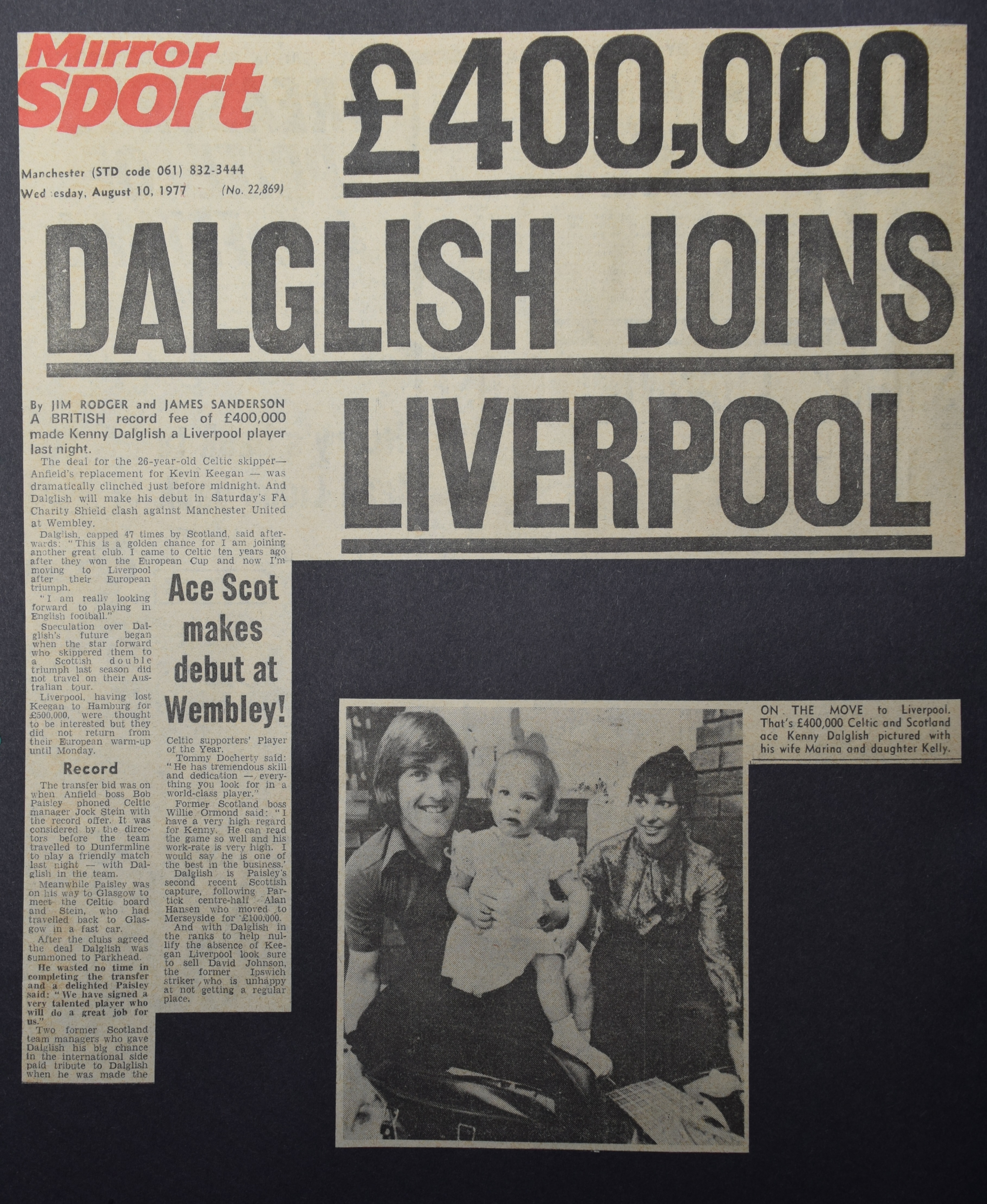 Daily Mirror - 10 August 1977
