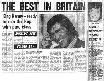 Best in Britain - Dalglish moves to Liverpool