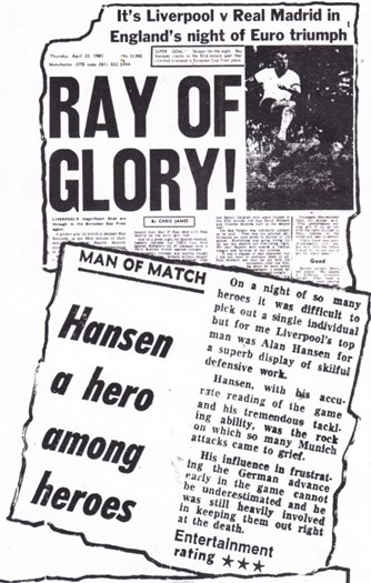 Hansen a hero among heroes - 22 April 1981