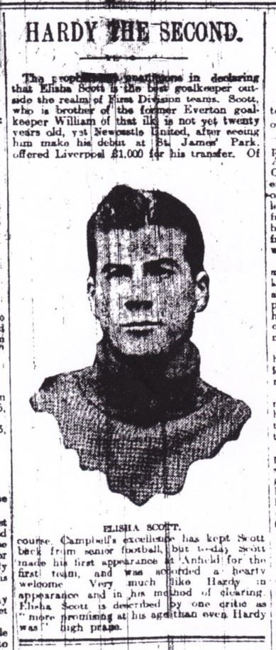 Hardy the 2nd - Liverpool Echo in the 1913/14 season