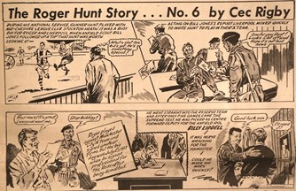 The Roger Hunt story by Cec Rigby
