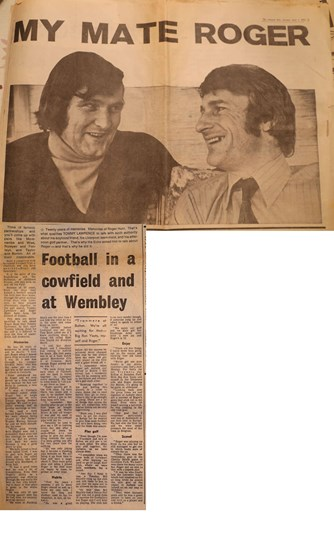 My mate Roger by Tommy Lawrence -Liverpool Echo 1972
