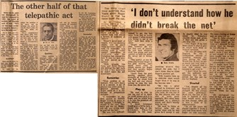 Ron Yeats and Ian St John on Roger Hunt - Liverpool Echo special on 1 April 1972