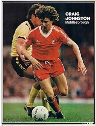 Poster of Middlesbrough's Johnston