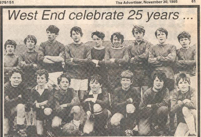 Alan Kennedy in his school team third from right in the top row