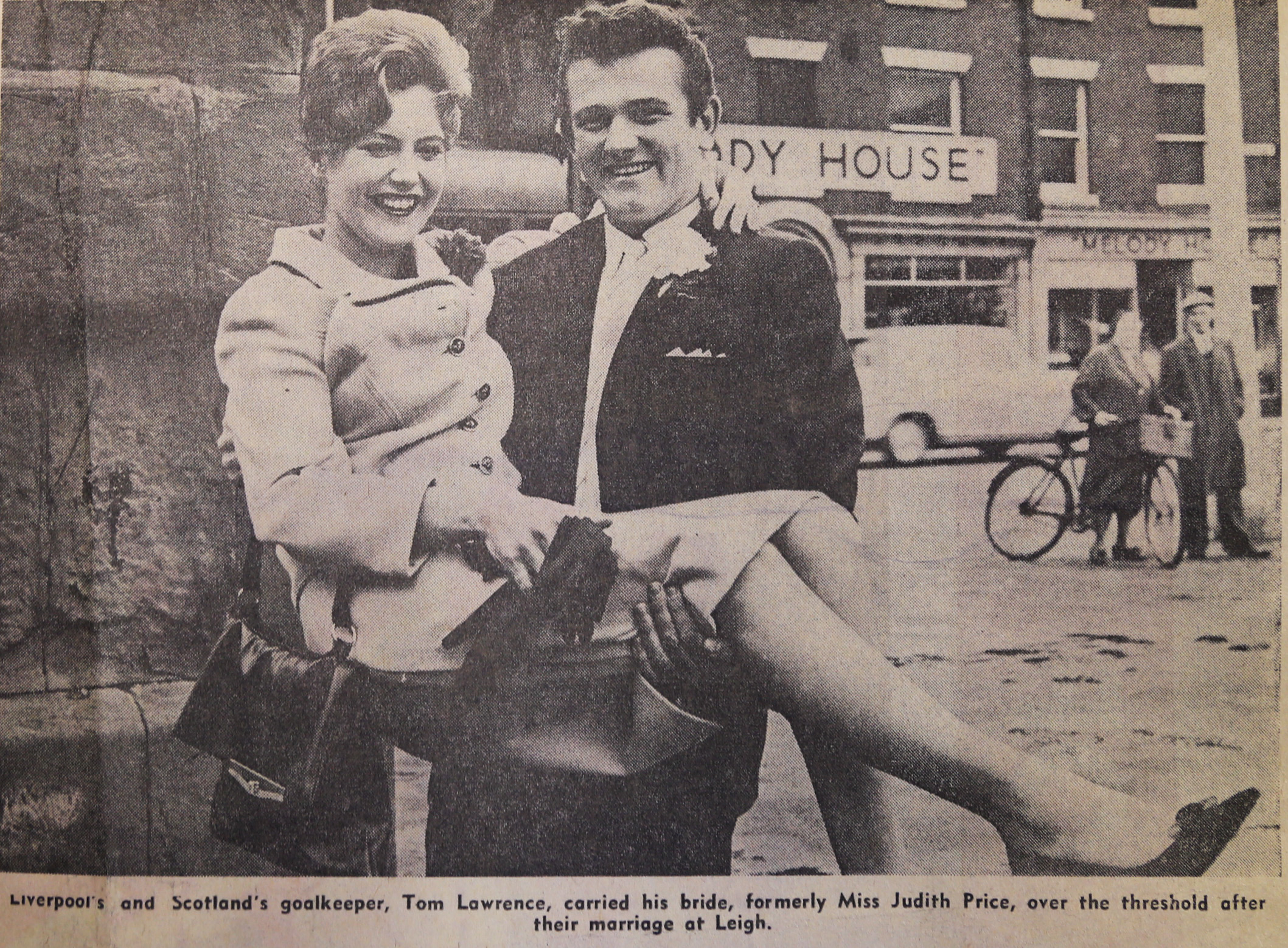 Tommy marries Judith 15 July 1963