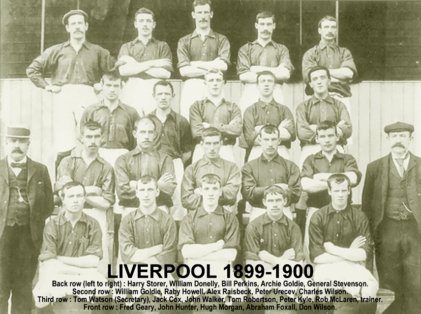 Squad picture for the 1899-1900 season - LFChistory ...