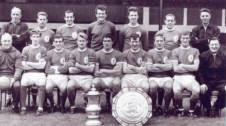 Squad Picture For The 1965 1966 Season