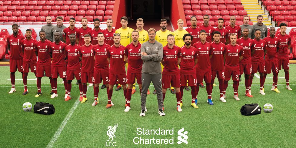 Squad Picture For The 2018 2019 Season Lfchistory Stats Galore For Liverpool Fc