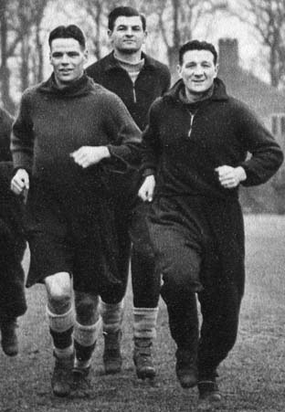 Billy and Bob training on 19th of February 1952
