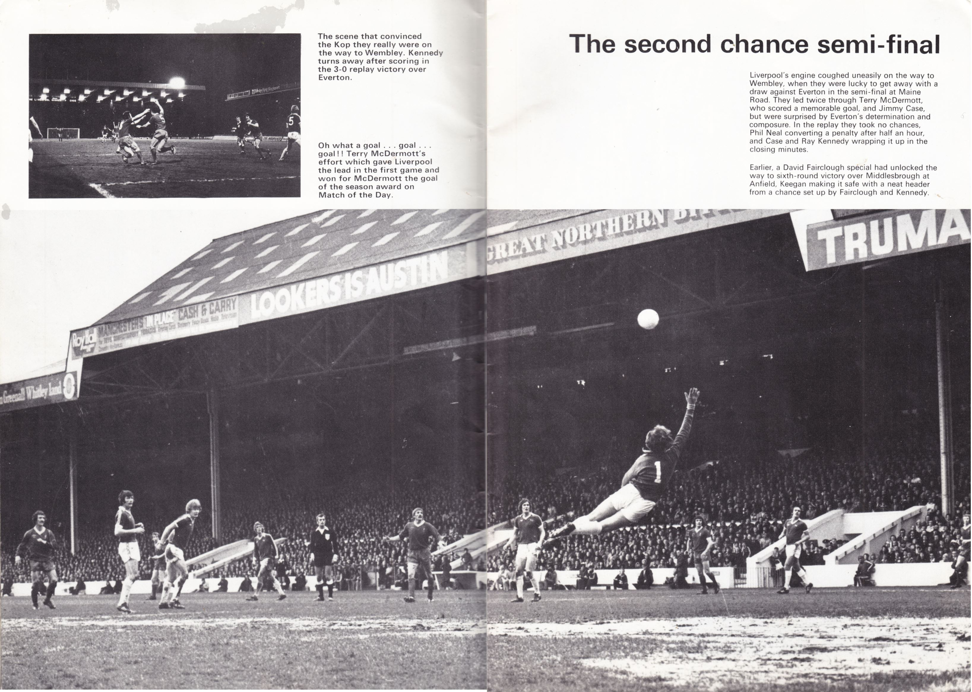 The second chance semi-final! - 27 April 1977