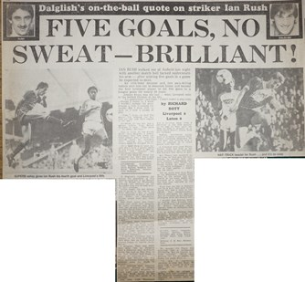 Five goals, no Sweat - 29 October 1983