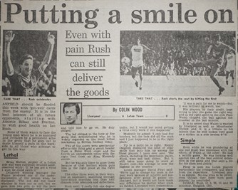 Putting a smile on - 29 October 1983