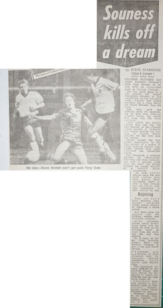 Souness kills off a dream - 28 November 1983