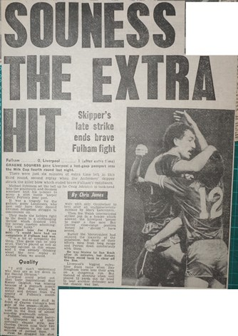 Souness the extra hit - 28 November 1983
