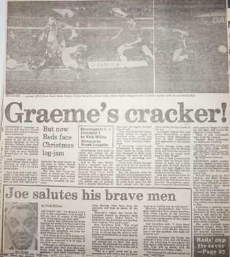 Graeme's cracker - 3 December 1983