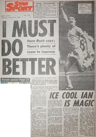 I must do better - 20 January 1984