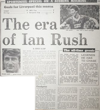 The era of Ian Rush - 20 January 1984