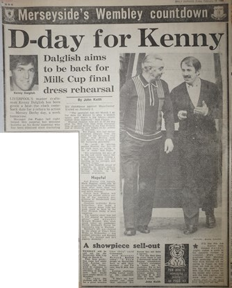 D day for Kenny - 24 February 1984