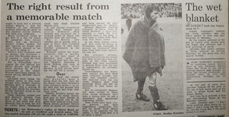 The right result - 25 March 1984