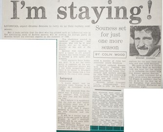 I am staying - 7 April 1984