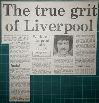 The true grit of Liverpool - 18 April 1984