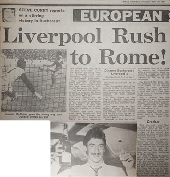 Liverpool rush to Rome - 25 April 1984