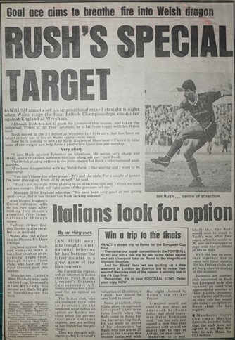 Special target for Rush - 5 May 1984