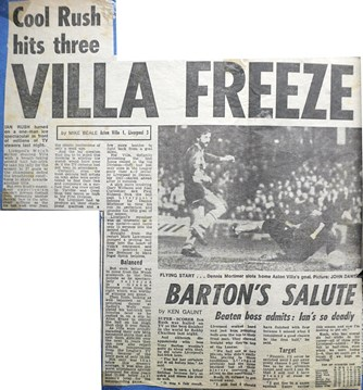 Villa Freeze - 20 January 1984