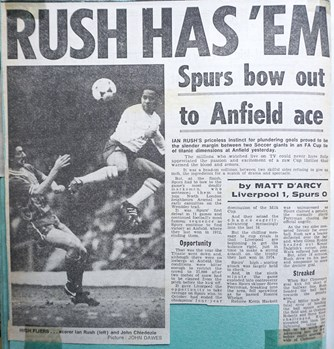 Rushie has 'em - 27 January 1985