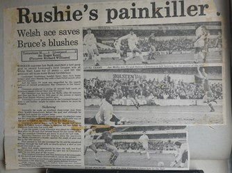 Rushie's painkiller - 2 March 1986