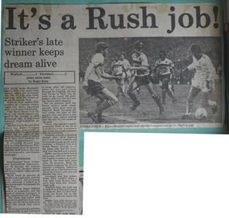 It's a Rush job - 17 March 1986