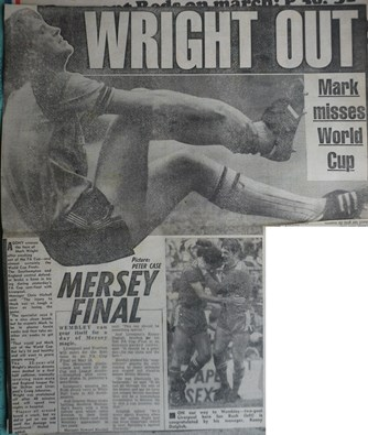 Wright out - 5 April 1986