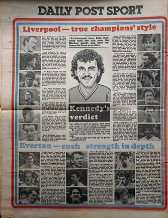 Alan Kennedy's verdict on FA Cup Final - 10 May 1986